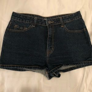 BDG High Wasted Denim Shorts